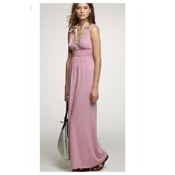 3ee0fc36d9 J. Crew Dresses   Skirts - J Crew Grecian Maxi Dress Light Pink Sz 8
